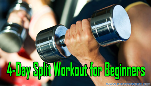 4-Day Split Workout for Beginners