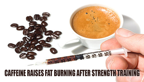 Caffeine Raises Fat Burning After Strength Training