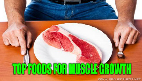 Top Foods For Muscle Growth
