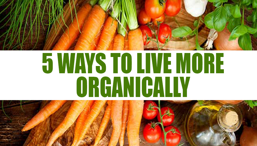 5 Ways to Live More Organically