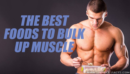 THE BEST FOODS TO BULK UP MUSCLE