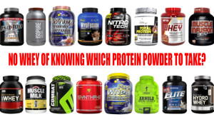 No Whey of Knowing Which Protein Powder to Take?