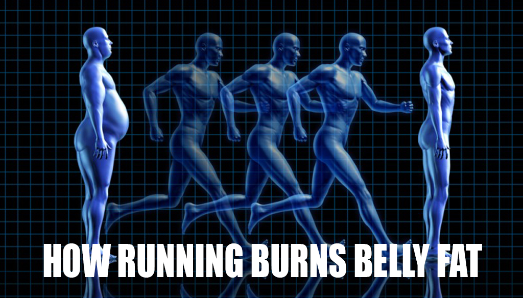 How Running Burns Belly Fat