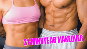 21-Minute Ab Makeover