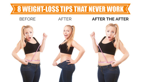 8 Weight-Loss Tips That Never Work