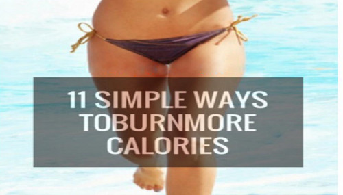 11 Simple Ways To Burn More Calories