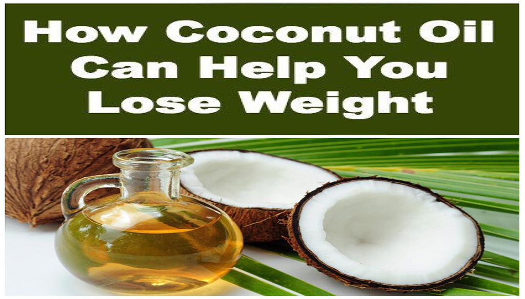 How Coconut Oil Can Help You Lose Weight
