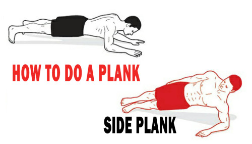 How To Do A Plank / Side Plank