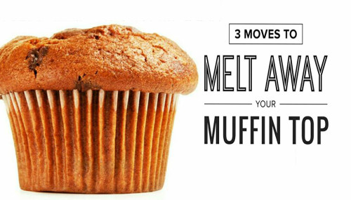 3 Moves To Melt Away Your Muffin Top