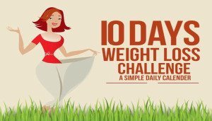 Diet to Lose Weight in 10 Days: A Simple Daily Calender