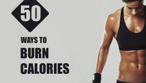 50 Simple Ways to Burn Calories