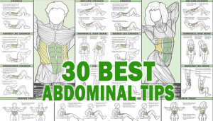 30 Best Abdominal Tips