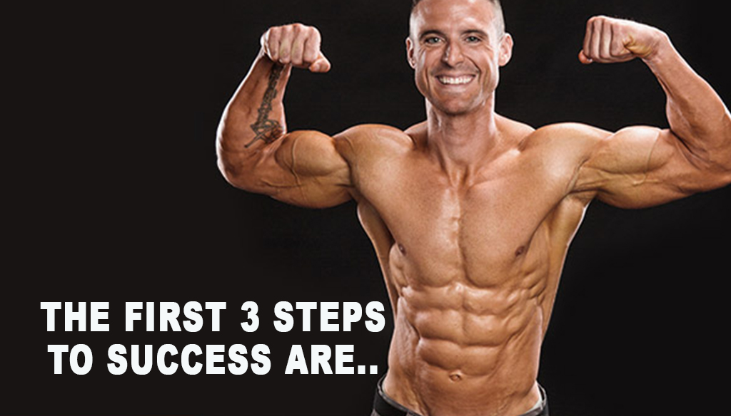 The first 3 steps to success are the SAME