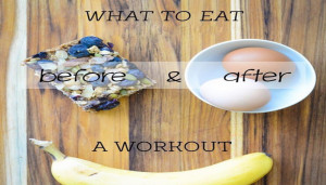 What To Eat Before & After Workout
