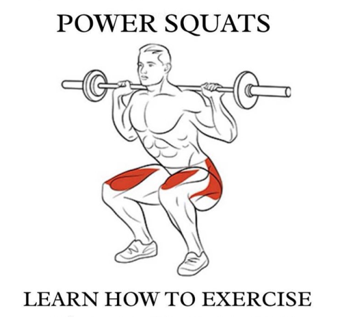 Power Squats! Learn How To Exercise