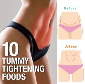 10 Tummy-Tightening Foods