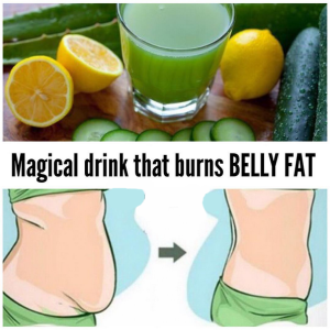 Magical Drink That Burns Belly Fat
