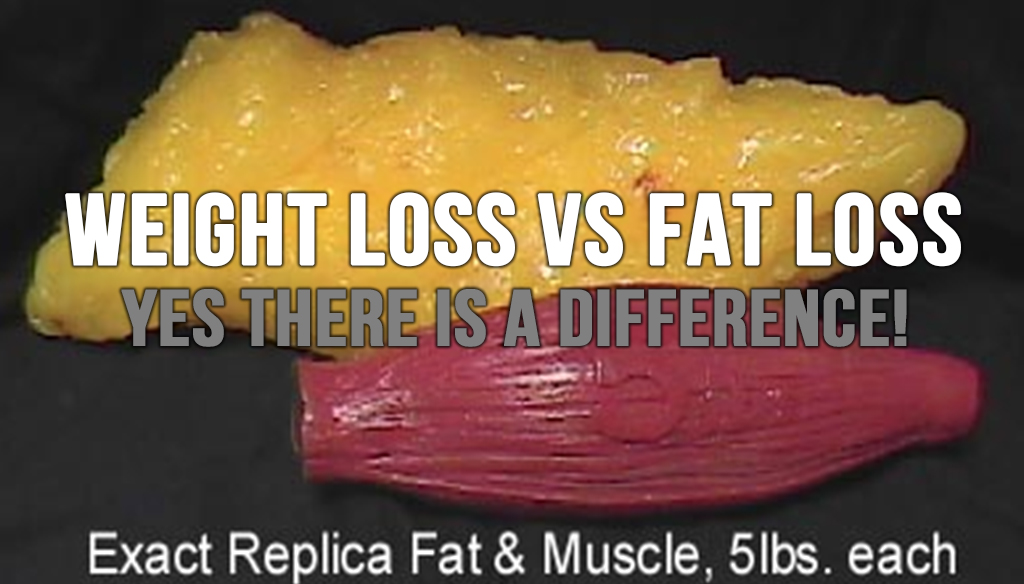 Weight Loss Vs Fat Loss - Yes There is a Difference!