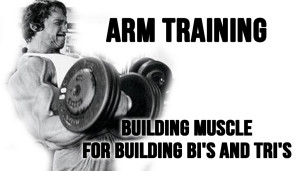 Arm Training - Building Muscle for Building Bi's and Tri's