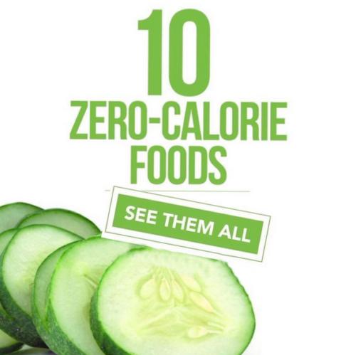 10 Zero-Carorie Foods