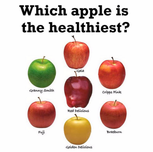 What Is The Healthiest Apple?