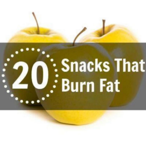 20 Snacks That Burn Fat