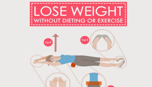 How To Lose Weight Without Dieting Or Exercise