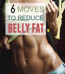 6 Moves To Reduce Belly Fat