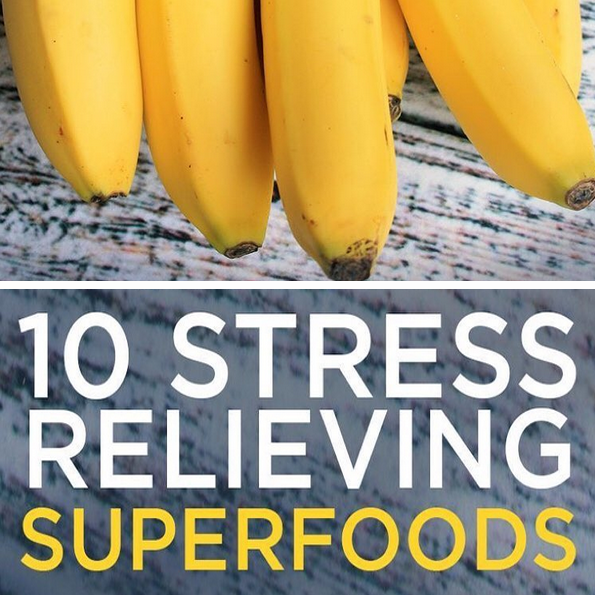 10 Stress Relieving Superfoods