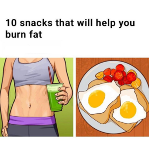 10 Snacks That Will Help You Burn Fat