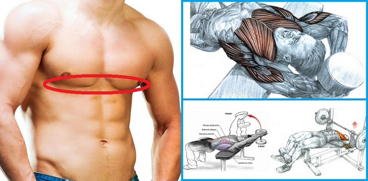 How To Tone Your Lower Chest Using 5 Simple Exercises