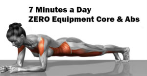 No Equipment, 7 Minute Abs & Core Workout