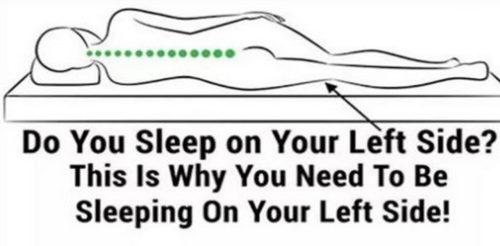 The Amazing Benefits of Sleeping on Your Left Side