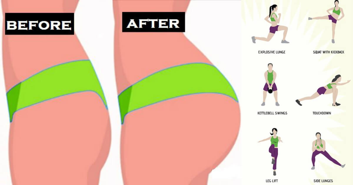 Brazilian Butt Workout Complete With 6 Exercises
