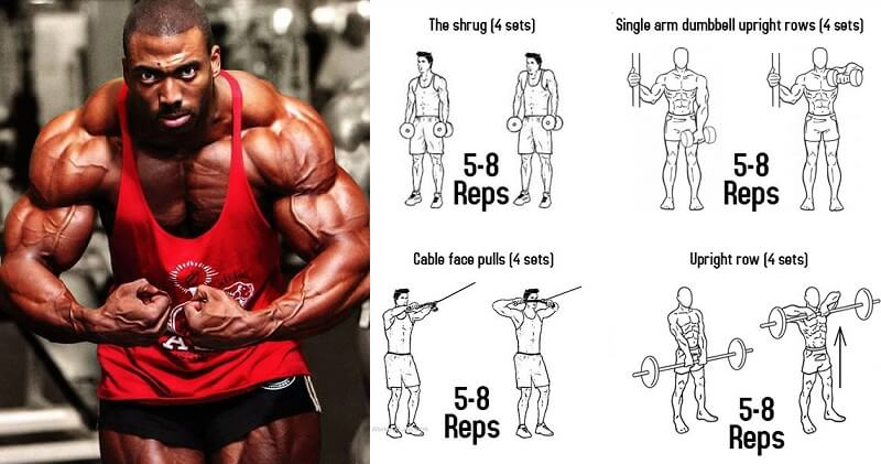 Workout & Training Plan To Build Towering Traps