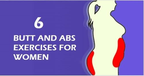 6 Firming Butt and Abs Exercises for Women