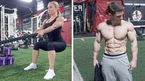 Twice-a-week Resistance/HIIT Routine Combo That Builds Muscle and Burns Fat