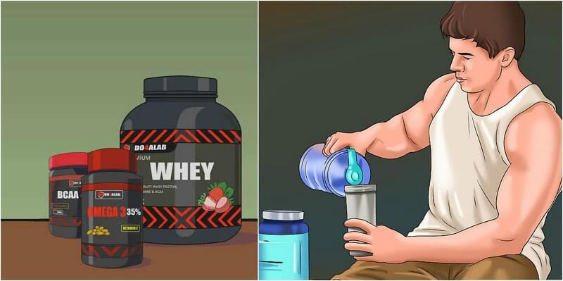 The 7 Best Supplements For Faster Muscle Gain !